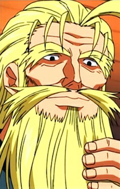 Fuurinji Hayato, Kenichi: The Mightiest Disciple, Male, Solo, Blonde Hair, Beard