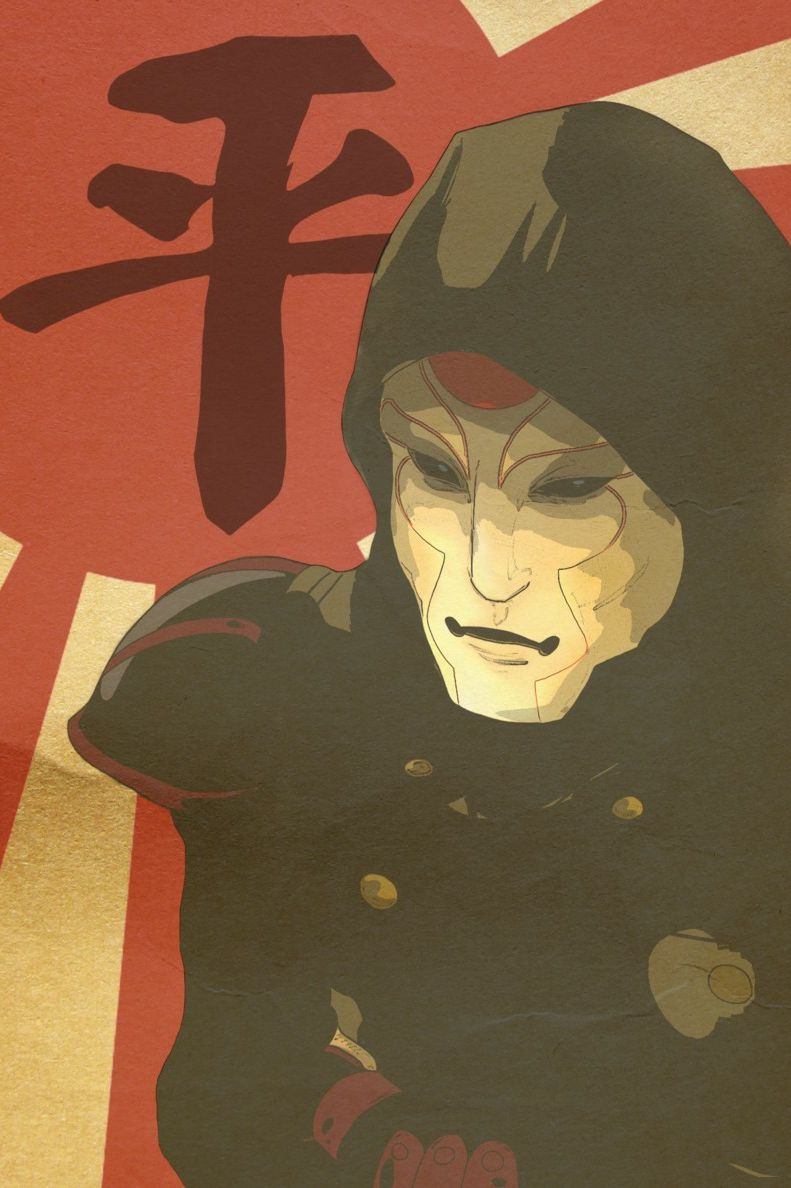 Avatar: The Legend Of Korra, Amon, Male, Solo, Mask, Equalists