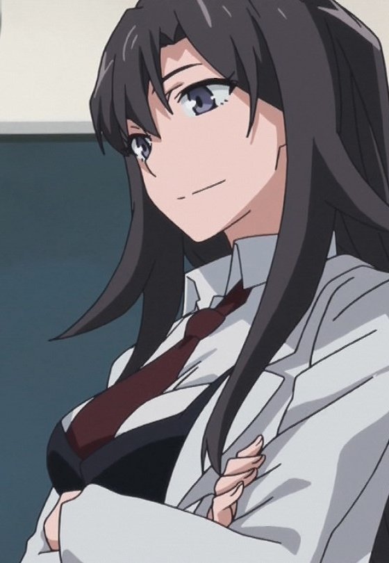 Shizuka Hiratsuka, Yahari Ore No Seishun Love Come Wa Machigatteiru, Long Hair, Black Hair, Solo, Female, Chrono Crusade