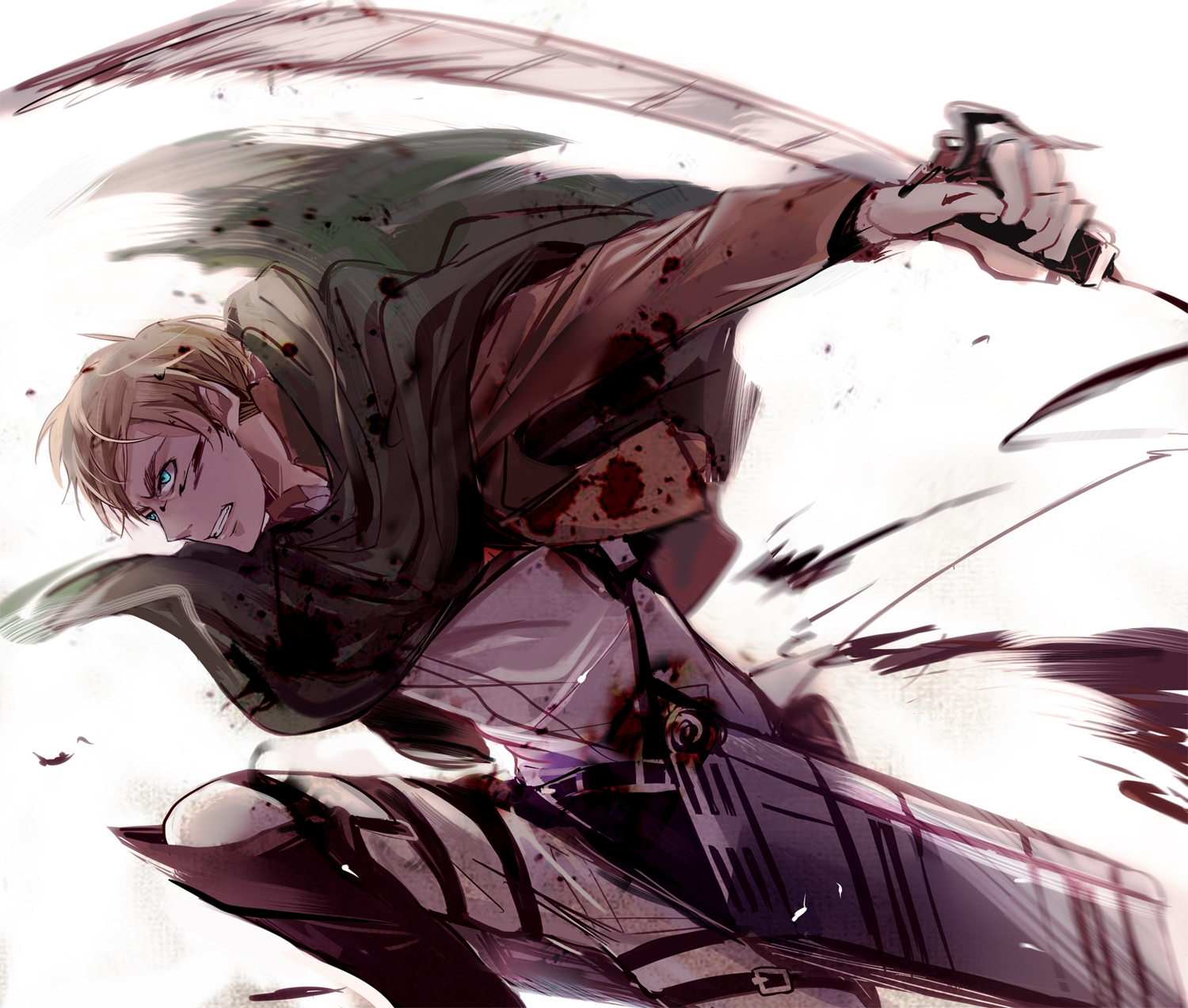 Attack on Titan, Erwin Smith, Shingeki no Kyojin