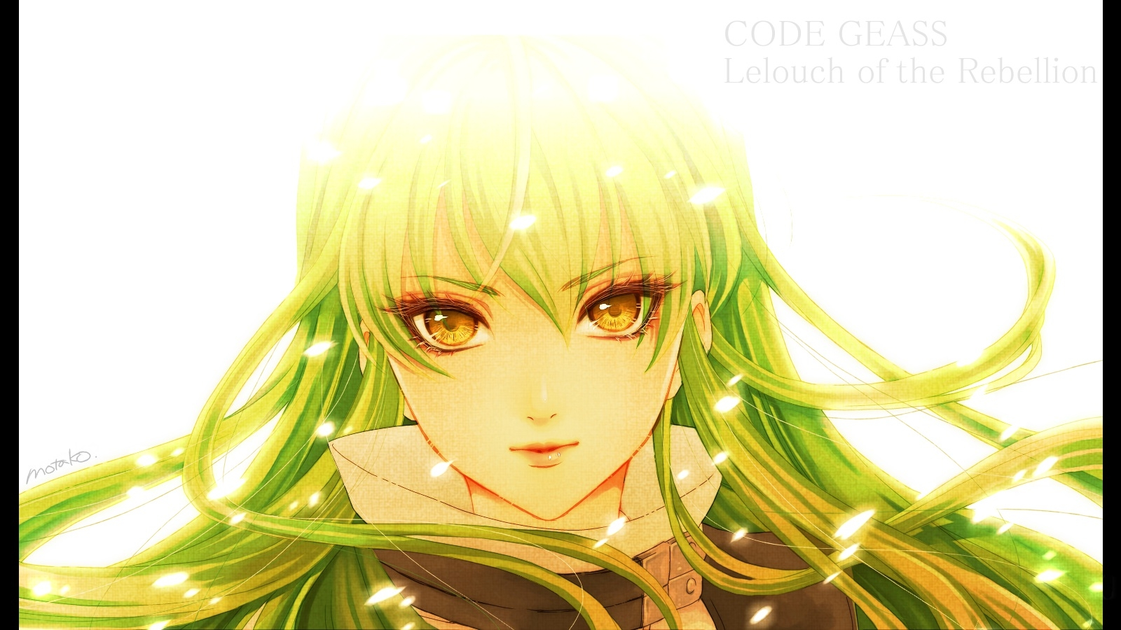 Code Geass: Lelouch of the Rebellion, Green Hair, C.C.