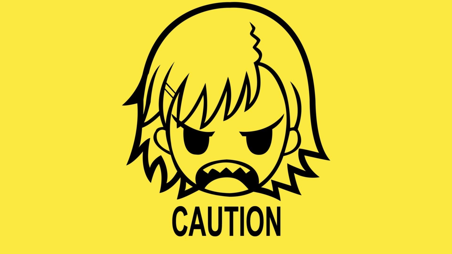 A Certain Scientific Railgun, Yellow Background, Angry