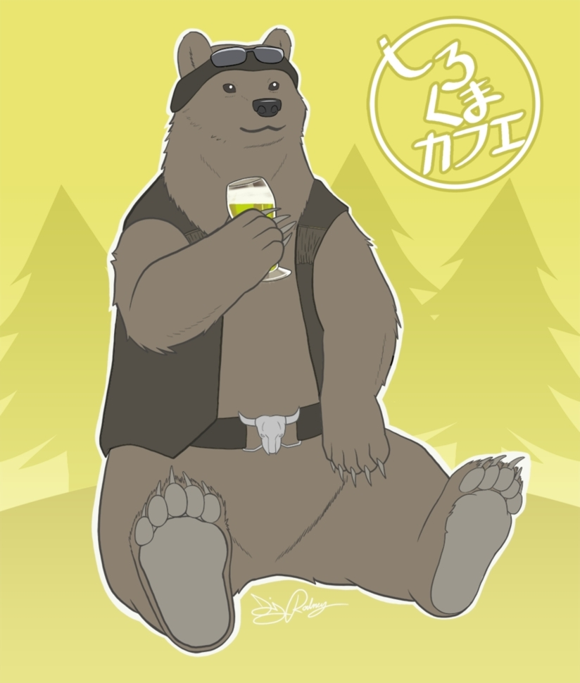 Grizzly-san, Polar Bear's Café