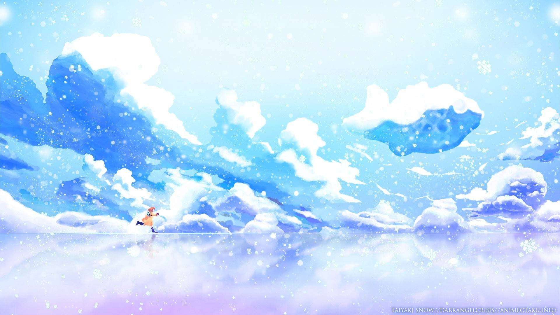 Kanon, Snow, Lonely, Clouds