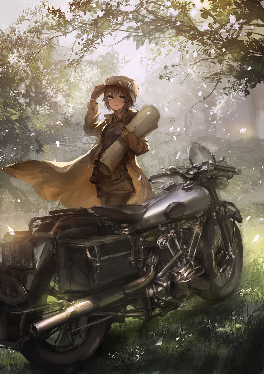 Kino, Motorcycle, Love, Traveling, Kino No Tabi