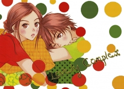 Atsushi Otani, Risa Koizumi, Brown Eyes, Short Hair, Hair Buns, Couple, Male, Female, Duo, Romantic, Lovely Complex