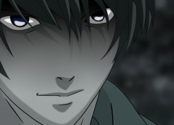 Mad House, Light Yagami, Dark, Short Hair, Black Eyes, Kira, Death Note