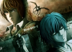 L Lawliet, Mad House, Ryuk, Light Yagami, Short Hair, Black Eyes, Shinigami, Detective, Kira, Death Note
