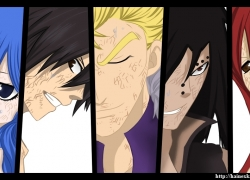 Fairy Tail, Gray Fullbuster, Erza Scarlet, Juvia Loxar
