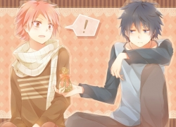 Fairy Tail, Pixiv, Natsu Dragneel, Gray Fullbuster