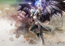 Wings, Aion: The Tower Of Eterni..., Armor, Black Wings, 1920x1200 Wallpaper, Male, Widescreen 16:10 Ratio, Wallpaper