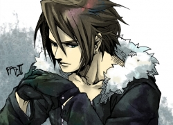 Final Fantasy VIII, Squall Leonhart, Square Enix, Dissidia, Short Hair, Blue Eyes, Male, Brown Hair