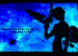 Blue, Guy, Weapons, Quote