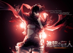 SNK, Shingeki no Kyojin, Mikasa Ackerman, Attack on Titan