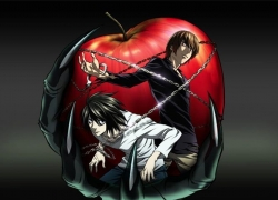 L Lawliet, Light Yagami, Death Note, Apple