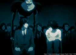 L Lawliet, Light Yagami, Death Note