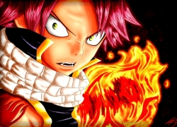 Natsu Dragneel, Fairy Tail, Flames