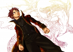 What A Loser, Official Art, Natsu Dragneel, Fairy Tail