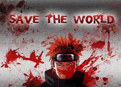 Naruto Shippuuden, Blood, Yahiko, Orange Hair, Pain, Deva Path