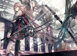 IA, Vocaloid, Weapons, Sword