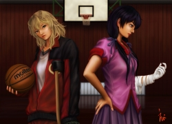 Rouka Numachi, Basketball, Monogatari Series: Second Season