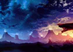 Tengen Toppa Gurren Laggan, Space, Mountains