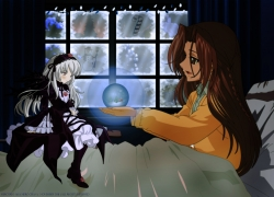 Suigintou, Rozen Maiden, Rozen Maiden: Ouvertüre, Wings, Doll, Black-Winged Maiden