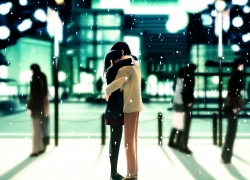 Romance, Couple, Snow