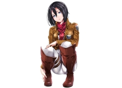 Attack on Titan, Mikasa Ackerman