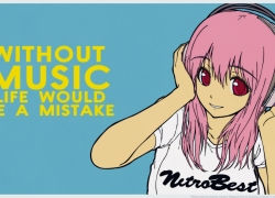SoniAni: Super Sonico the Animation, Pink Hair