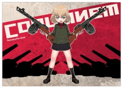Loli, Guns, War, Short Hair, Mad