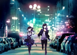 City, Boy, Girl, Psycho-Pass