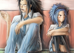 Fairy Tail, Gajeel Redfox, Levy McGarden