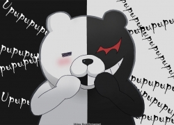 Danganronpa - Kibō no Gakuen to Zetsubō no Kōkōsei The Animation, Danganronpa The Animation, Monokuma