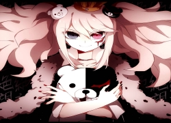 Danganronpa The Animation, Junko Enoshima, Monokuma