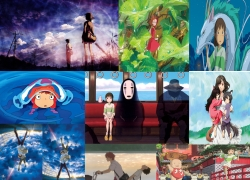 5 Centimeters per Second, The Girl Who Leapt Through Time, Wolf Children, Wolf Children: Ame & Yuki, Spirited Away, Ponyo, The Secret World of Arrietty