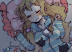Sleeping, Tsumugi Kotobuki, Cute, K-ON!