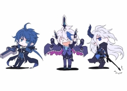 Elsword, Ciel, Royal Guard, Dreadlord, Demonio