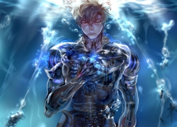 One Punch Man, Genos, Ocean