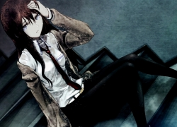 Kurisu Makise, Anime, Sad, Steins;Gate, Girl, Female