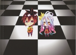 No Game No Life, Shiro, Sora, Chibi