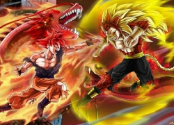 Dragon Ball GT: Goku Gaiden! Yûki no Akashi wa Sûshinchû, Dragonball, super saiyan, Dragon Ball