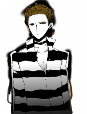 Seiji Yagiri, Collar, Male, Short Hair, Green Eyes, Solo, Monochrome, Open Shirt, Durarara!!