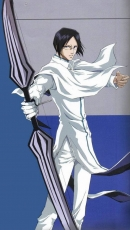Uryuu Ishida, Glasses, Short Hair, Black Eyes, Male, Solo, Bow (weapon), White Outfit, Bleach