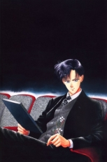 Sailor Moon, Mamoru Chiba, Male, Solo, Short Hair, Blue Eyes, Suit, Sitting, Book, Sailor Moon