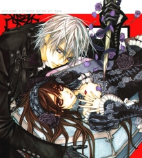 Studio Deen, Yuki Kuran, Zero Kiriyuu, Coffin, Brown Eyes, Female, Male, Short Hair, Vampire, White hair, Vampire Knight