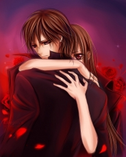 Studio Deen, Yuki Kuran, Matsuri Hino, Kaname Kuran, Female, Male, Red Eyes, Short Hair, Vampire, Vampire Knight