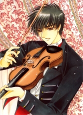 Touya Kinomoto, CLAMP, Male, Music, Musical Instrument, Violin, Solo, Short Hair, Brown Eyes, Suit, Cardcaptor Sakura