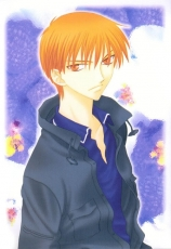 Sohma Kyo, Male, Orange Hair, Orange Eyes, Serious, Short Hair, Fruits Basket
