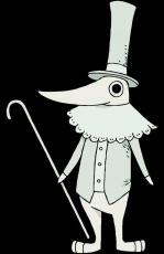 Square Enix, Excalibur, Black Background, Cane, Hat, Soul Eater